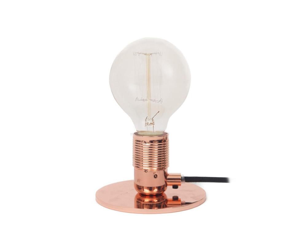 Underbar Stolná lampa E27, Copper | DesignVille PE-65