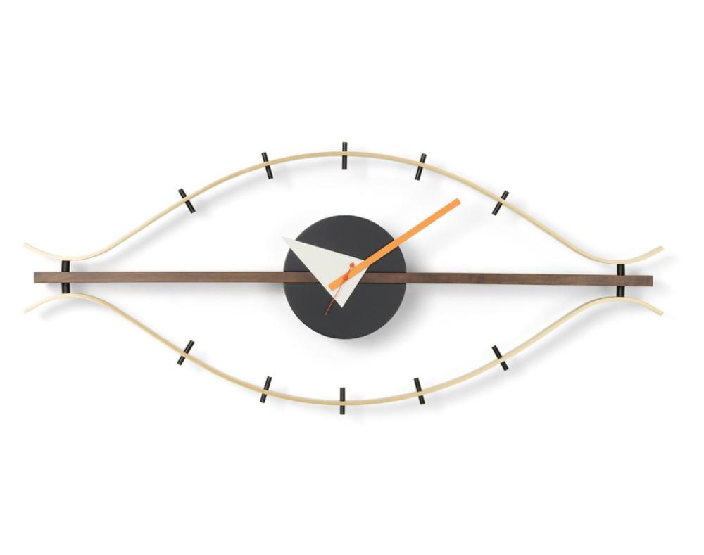 hodiny vitra eye clock designville. Black Bedroom Furniture Sets. Home Design Ideas