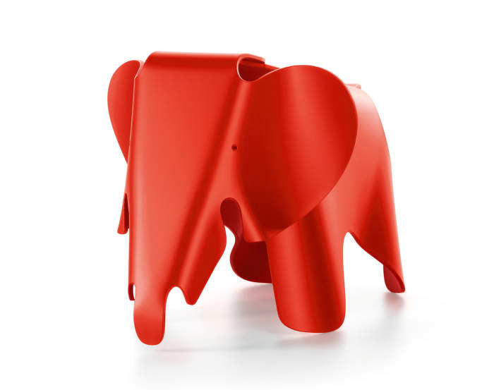 Slon Eames Elephant, poppy red