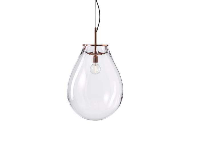 Lampa Tim medium, copper