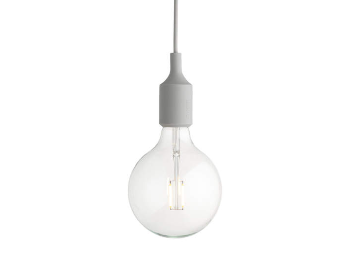 Závesná LED lampa Muuto E27, light grey
