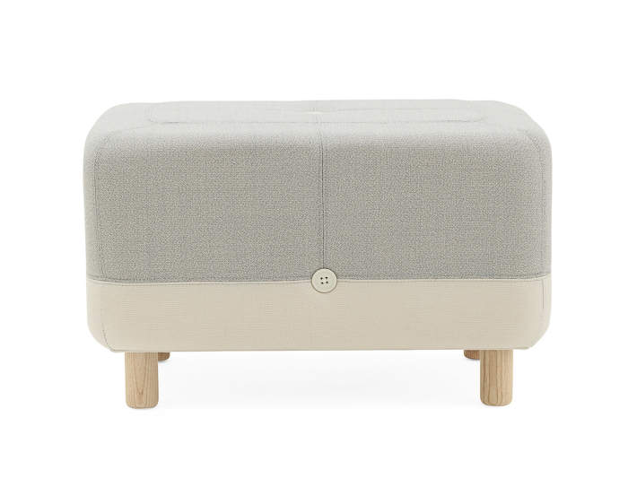 Pouf Sumo, Light Grey Hybrid