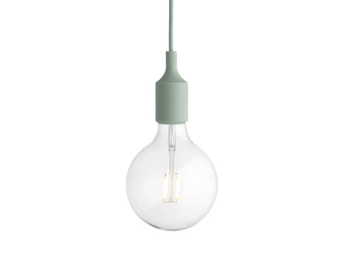Závesná LED lampa Muuto E27, light green