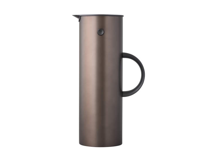 EM77 vacuum jug, 1L, dark brown metallic