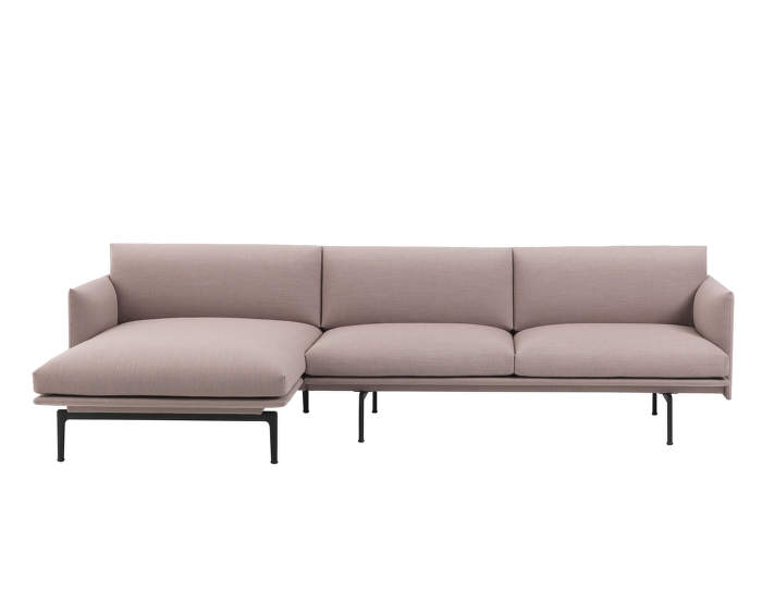 Outline Sofa Caiche Longue Pink