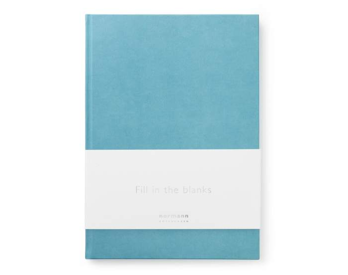 Blok Daily Fiction A4, powder blue