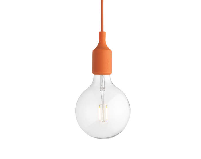 Závesná LED lampa Muuto E27, orange