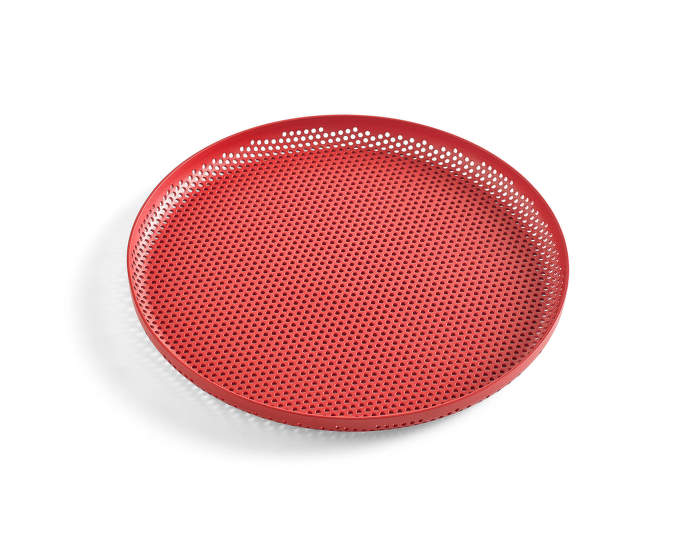 Tácka Perforated Tray M, red