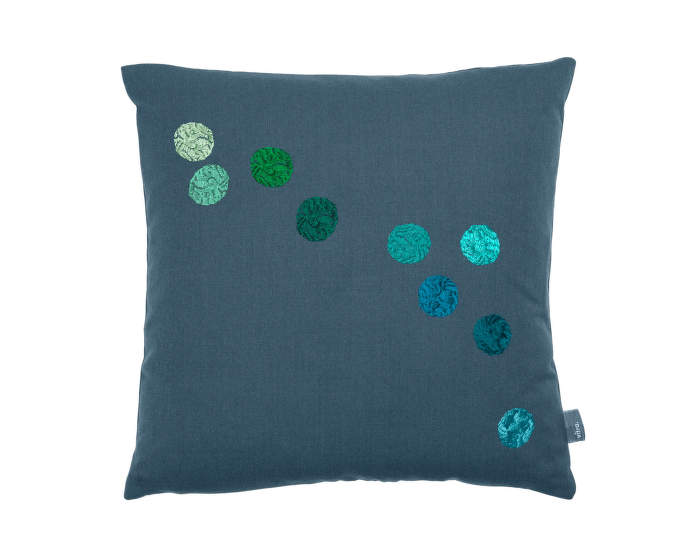 Vankúš Vitra Dot Pillow, blue/grey