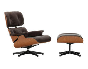 Eames Lounge Chair & Ottoman, american cherry