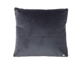 Vankúš Corduroy Cushion, dark grey
