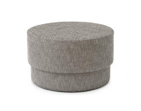 Pouf Silo medium, black