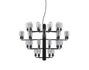 Luster Amp Chandelier Large, smoke/black