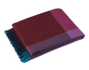 Deka Block, blue & bordeaux