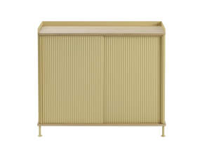 Komoda Enfold Sideboard Tall, oak/sand yellow