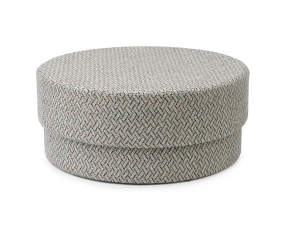 Pouf Silo large, piazza grey