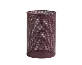Kôš Perforated Bin L, burgundy