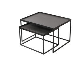 Konferenčné stolíky Rectangle tray coffee table set, small/large