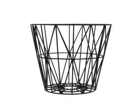 Kôš Wire Basket medium, black