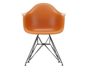 Stolička Eames DAR, rusty orange