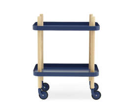 Servírovací stolík Block Table od Normann Copenhagen, dark blue