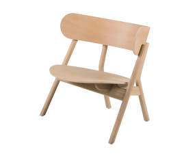 Kreslo Oaki Lounge Chair, light oak