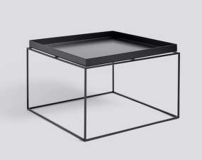 Stolík Tray Table 60x60, black