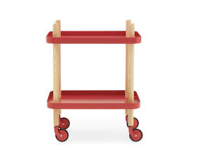 Servírovací stolík Block Table od Normann Copenhagen, red