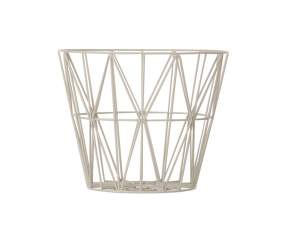 Kôš Wire Basket medium, grey