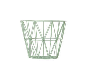 Kôš Wire Basket small, mint