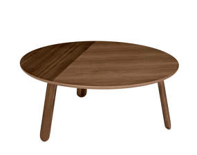 Stolík Paper Table L, walnut