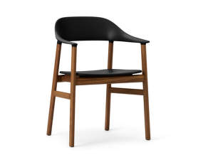 Stolička Herit Armchair Smoked Oak, black