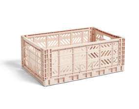 Úložný box Crate L, soft pink