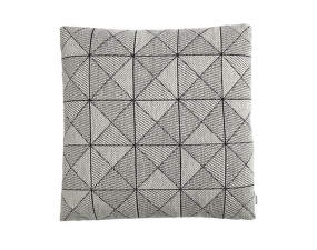 Vankúš Tile Cushion, Black / White 50x50