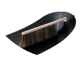 Metlička a lopatka Dustpan & Broom, black