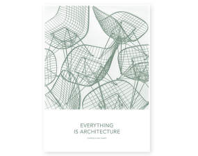 Plagát 50x70 Eames Quotes Posters, Architecture