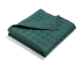 Prikrývka Mega Dot 195 x 245, dark green