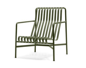 Stolička Palissade Lounge Chair High, olive