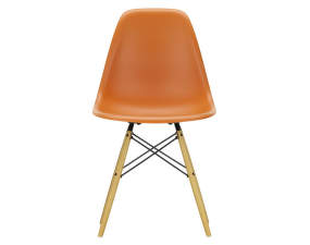 Stolička Eames DSW, rusty orange
