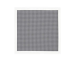 Obrus Tablecloth Checker, black