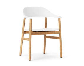 Stolička Herit Armchair Oak, white