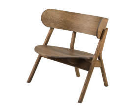 Kreslo Oaki Lounge Chair, smoked oak