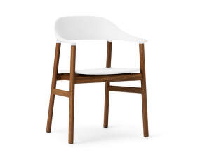 Stolička Herit Armchair Smoked Oak, white