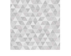 Tapeta Triangular, white/grey