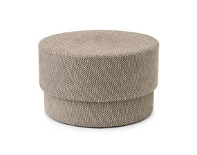 Pouf Silo medium, dusty brown