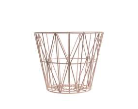 Kôš Wire Basket small, rose