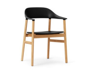 Stolička Herit Armchair Oak, black