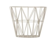 Kôš Wire Basket large, grey
