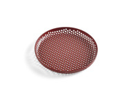 Tácka Perforated Tray S, bordeaux