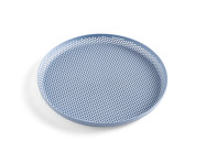 Tácka Perforated Tray M, light blue